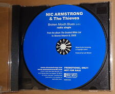 Broken Mouth Blues - Nic Armstrong & The Thieves - CD Promo Single US 2005