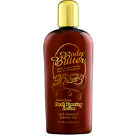 Body Butter Intensifying Dark Tanning Lotion Healthy Golden Brown Glow - 180ml