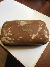 Vintage Cow Hide / Fur Skin Clutch / Purse