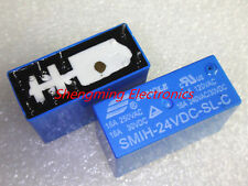 2PCS 8pins SMIH-24VDC-SL-C DC 24V 16A 250VAC Power Relay