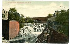 Wappingers Falls NY -STONE BRIDGE FROM FRANKLINDALE MILL RUINS- Postcard