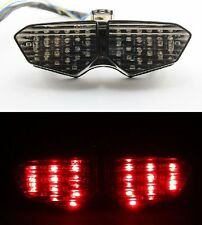 Smoke Integrated LED Signals Tail Light  for Yamaha YZF R6 2003 2004 2005 New