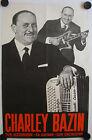 Affiche CHARLEY BAZIN Accordéon - Guitare Années '50 '60