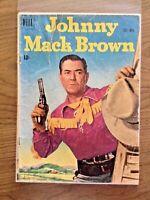 Johnny Mack Brown #7 1951 Golden Age Dell Comics - Low Grade