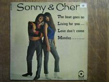 SONNY AND CHER EP FRANCE THE BEAT GOES ON