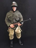 "WWII German Soldier GI JOE by Hasbro 12"" Inch 1:6 Scale Action Figure Wehrmacht"