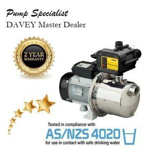 Davey Silver Series RainWater Tank, Garden, Irrigation Pump WTY Agents SJ60 SJ35