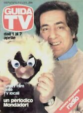GUIDA TV 1979 N.13 CORRADO LEONE CHARLIE PIPPO BAUDO TV PRIVATE TELEFILM RADIO