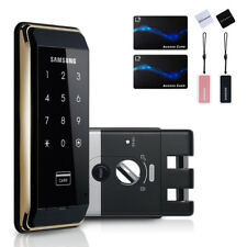[Express] Samsung SHS-D500 DIgital Door Rim Lock + 6 RF KeyTags + English Manual