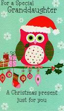 Granddaughter Moneyholder Christmas Gift Card Money Wallet Cards