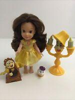 "My First Disney Princess Petite Belle 6"" Doll Beauty Beast Figures"