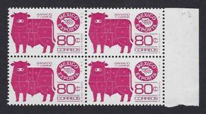 EXPORTA ISSUE B4 <80c MEAT-TORO >11 1/2  SC#1113b  PAPER #4 ETCV$4+(E110)