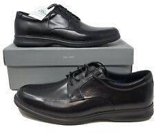 Rockport Men's Dressports 2+ Light Apron Toe Oxford Black Leather Shoe 14M NIB