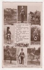 United We Stand Union is England Unity Military RP Postcard, B715