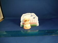 """GODMOTHERS Are Special """"Tip Toe Thru The Tulips"""" Miniature Wood Music Box"""