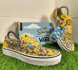 Vans X The Simpsons Limited Edition Trainers Size UK 6 EU 39 Itchy & Scratchy