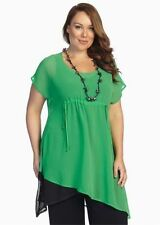 Polyester Tank, Cami Hand-wash Only Plus Size Tops for Women