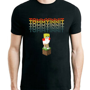 Tommyinnit Dream SMP Kids T Shirt Youtuber Merch Gamer Gaming Boys Tee Gifts