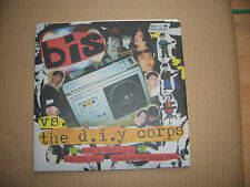 """BIS VS. THE D.I.Y CORPS - THIS IS FAKE D.I.Y - 7"""" P/S SINGLE WITH INSERT - INDIE"""
