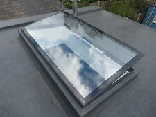 Flat Roof Skylight - Hinged, Remote Controlled, Electronic Opening - 600 x 900mm