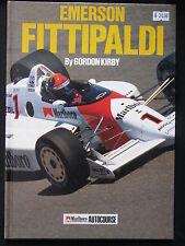 Hazleton Book Emerson Fittipaldi Gordon Kirby (English)