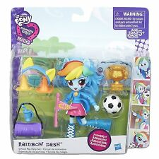 My Little Pony Equestria Girls Minis Rainbow Dash Scuola Pep Rally Set