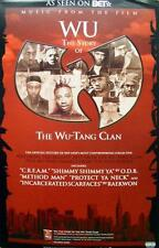 WU-TANG CLAN 2008 WU soundtrack promo poster ~NEW old stock/MINT condition~!!