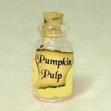 Readable Ltd Ed Magic Book Magical Poison Potions Halloween Dollhouse Miniature