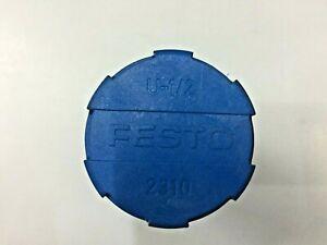 "FESTO U-1/2 2310 AIR SILENCER MUFFLER 1/2""        Pack of 5 pieces"