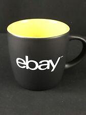New 8 Oz Black Yellow eBay New Logo Ceramic Coffee Cup Mug Tea eBayana