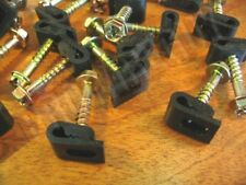 100 Ground wire or telephone cable / phone wire SCREW clips