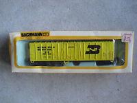 Vintage HO Scale Bachmann Burlington Northern 51' Reefer Car in Box 1009 03