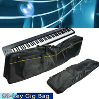 Lightweight 88 Key Electric Keyboard Carry Bag Case Gig Bag Soft Pad Handle
