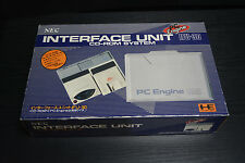 NEC PC ENGINE UNIT INTERFACE CD ROM SYSTEM BOXED HE SYSTEM JAPANESE IIMPORT