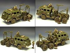 KING & COUNTRY D DAY DD104SL U.S. M26 ARMORED RECOVERY VEHICLE MIB