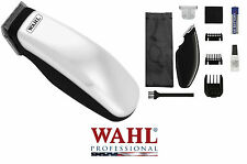 *NEW WAHL Cordless SUPER Pocket Pro Trimmer/Clipper & 2 Blades,Guide Combs*QUIET