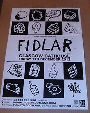 FIDLAR - live music band show promotional tour concert gig poster