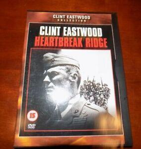 DVD CLINT EASTWOOD COLLECTION HEARTBREAK RIDGE (FLIP CASE)