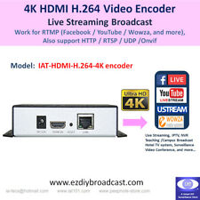 HDMI H.264 4K 2160P Video encoder RTMP HTTP RTSP YouTube Facebook live stream