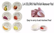 LA Colors Nail Polish Remover Pads- Acetone Free No Mess! All 6 packs, 198 pads!