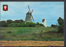 Denmark Postcard -  Danish Countryside - Panorama Danois - Windmill RR2354