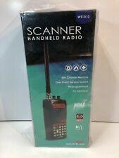 Whistler Ws1010 Analog Handheld Scanner Black Pc programmable 10 Storage Banks