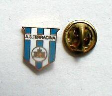 CALCIO football vecchia spilla distintivo pin A S TERRACINA  Lazio