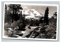 Vintage Early 1900's RPPC Postcard Mount Shasta California UNPOSTED