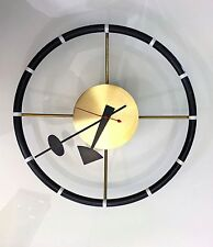 George Nelson Original Wall clock Howard Miller 1950's vintage modernist