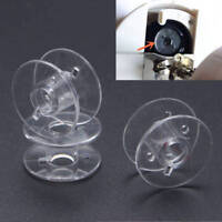 Lots 20PCS Plastic Domestic Sewing Machine Empty Bobbins For Brother Janome