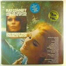"12"" LP - Ray Conniff And The Singers - Somewhere  / Bridge Over  - A4592 - RAR"