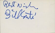 BILL CONTI In-person Autograph