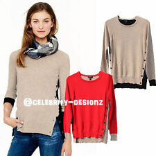 Scoop Neck Regular Thin Knit Jumpers & Cardigans for Women
