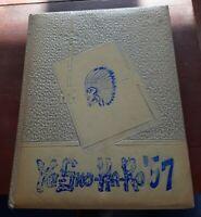 Vintage High School Yo-Sko-Ha-Ro Schoharie NY 1957 Yearbook